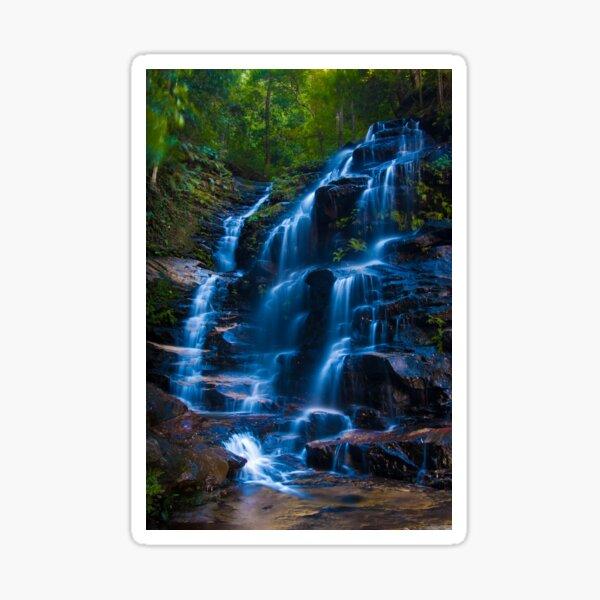 Sylvia Falls, Blue Mountains Sticker