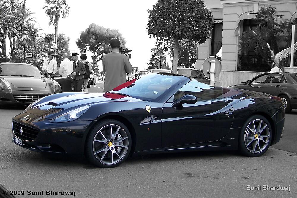 Black Ferrari California  by Sunil Bhardwaj
