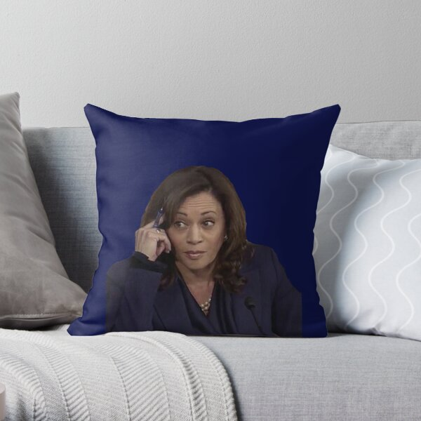 "Kamala Harris ""KavaNOPE"" Throw Pillow"