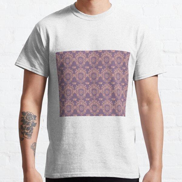 Castlefield Monogram Crest Pink & Lavender Classic T-Shirt