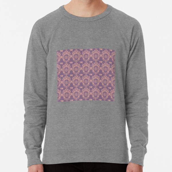 Castlefield Monogram Crest Pink & Lavender Lightweight Sweatshirt
