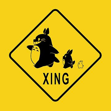 Totoro and friends Xing by telurico