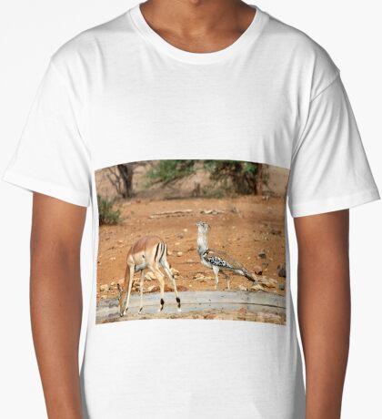 LADIES FIRST ! IMPALA & KORI BASTARD - Ardeotis kori Long T-Shirt