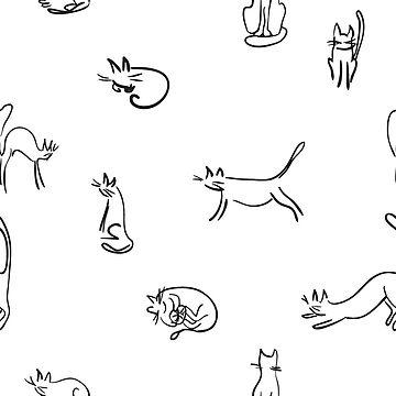 Funny cats by Shoshina