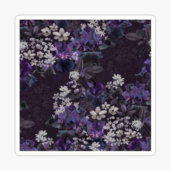 Lalia Dark Floral Sticker