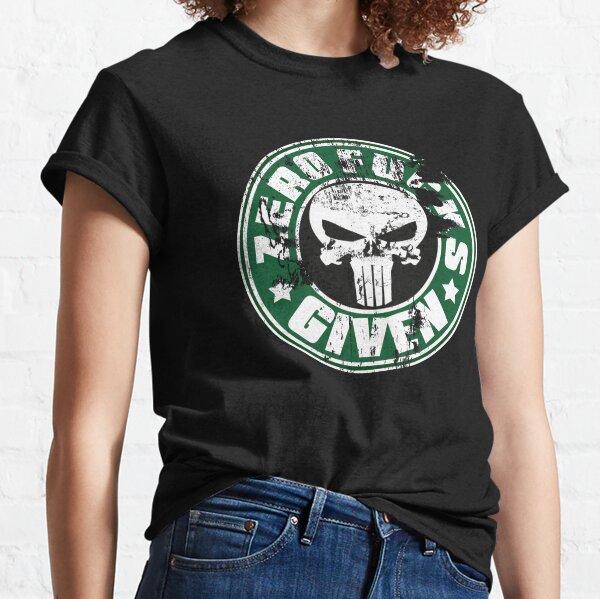 Zero Focks Given Classic T-Shirt