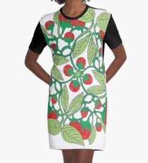 Tomatoes Graphic T-Shirt Dress