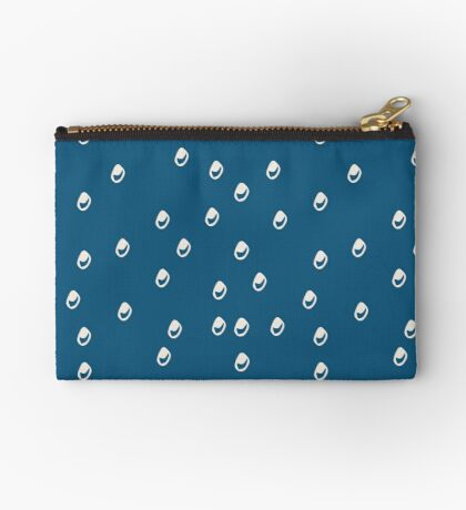 Homeland Flora Bubbles in Teal Studio Pouch