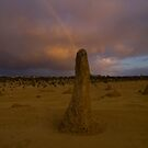 Finger of Light, Nambung NP, WA by Malcolm Katon
