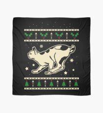 Christmas Japanese Bobtail Cat Gift Scarf