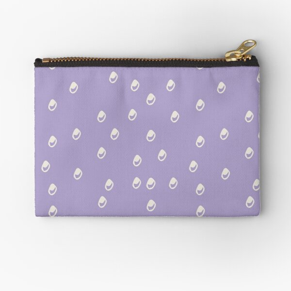 Homeland Flora Bubbles in Lilac Zipper Pouch