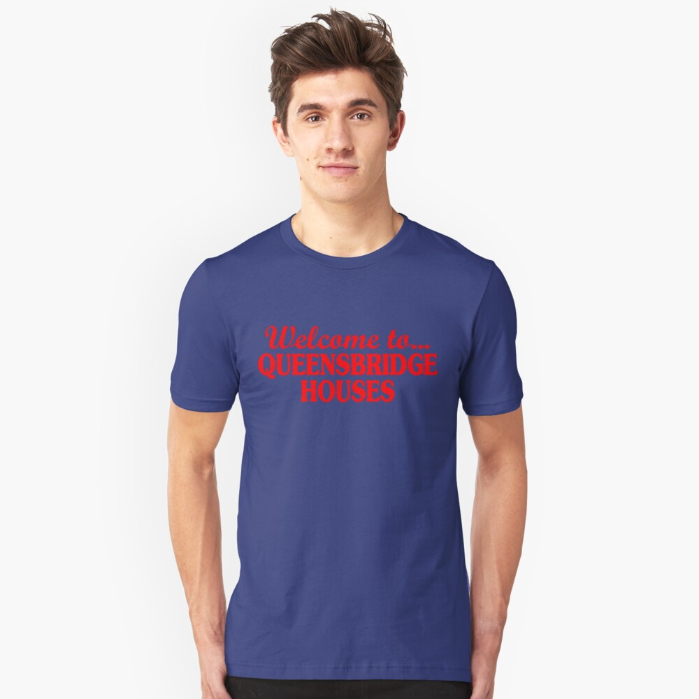 Welcome to... Queensbridge Houses Unisex T-Shirt Front