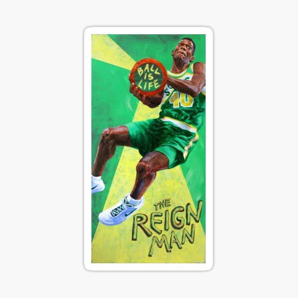 Ball is Life: The Reign Man Sticker
