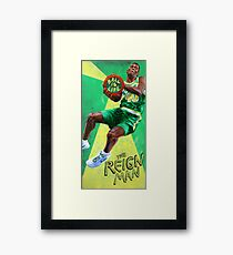 Ball is Life: The Reign Man Framed Art Print