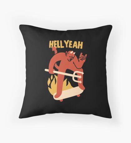 HELL YEAH Throw Pillow