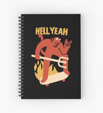 HELL YEAH Spiral Notebook