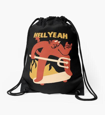 HELL YEAH Drawstring Bag
