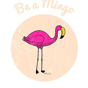 Mingo Flamingo Summer Vintage Design by TulleDesign