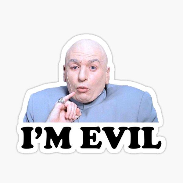 Austin Powers - Dr. Evil Sticker