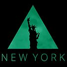 New York Hipster Triangle by pda1986