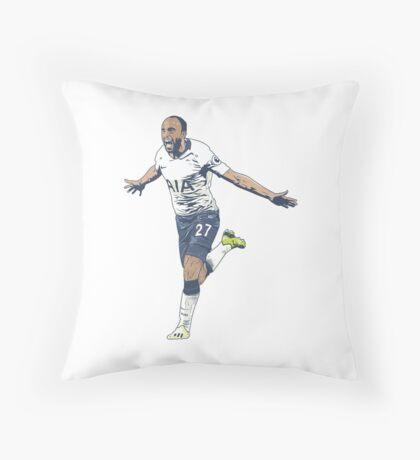 Lucas Moura COYS Throw Pillow