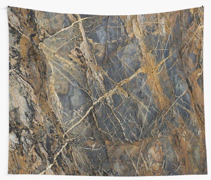 Natural Ocean Worn Coastal Geological Layer Rock Texture by LoraMaze
