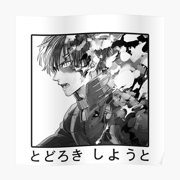 Todoroki Shouto Poster