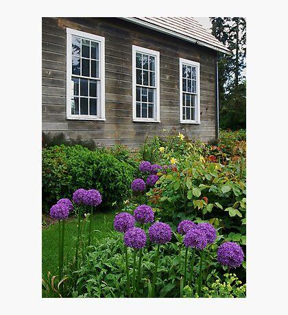 Schoolhouse in LaConner, Washington Photographic Print