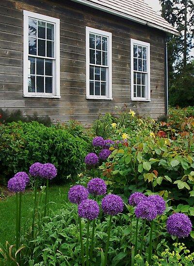 Schoolhouse in LaConner, Washington by Marjorie Wallace