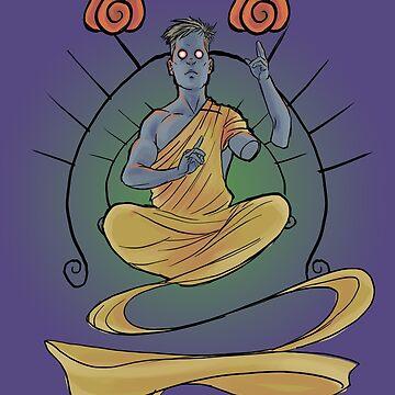Meditating Guy by silverman00