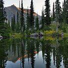 Sperry Pond by Dave Hampton