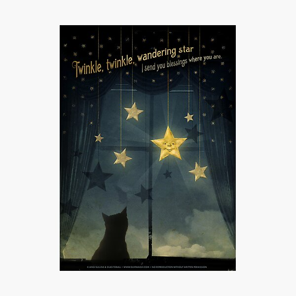 Twinkle, Twinkle Wandering Star... Photographic Print