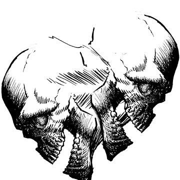 Skull Heart by silverman00