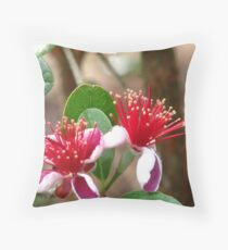 Acca Sellowiana Throw Pillow