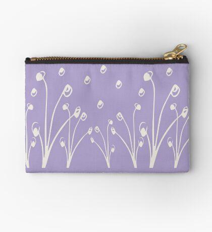 Homeland Flora Alliums in Lilac Studio Pouch
