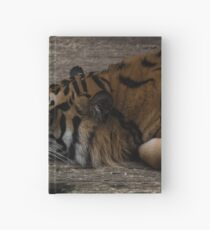 Lazy Tiger Hardcover Journal