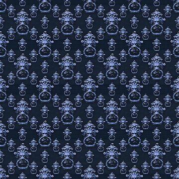Lyon Head Ornate Motif Pattern by DFLCreative