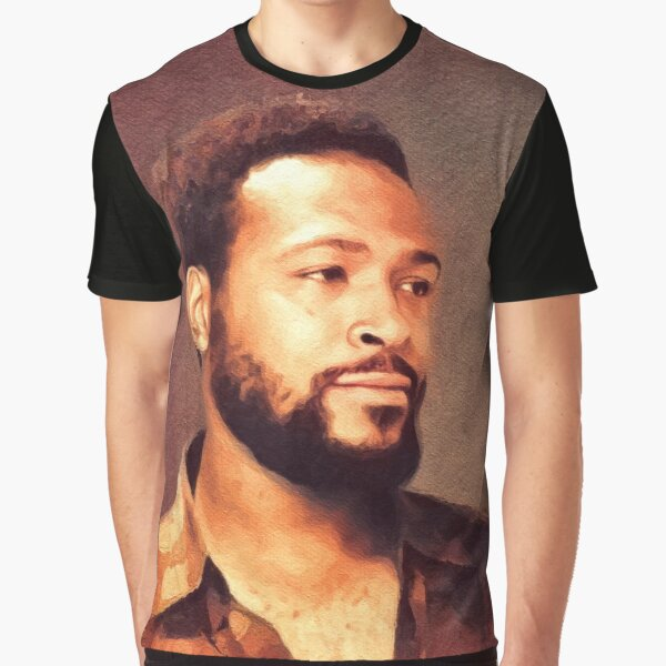 Marvin Gaye, Music Legend Graphic T-Shirt