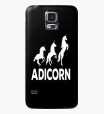Adicorn Adidas anicorn tshirt Case/Skin for Samsung Galaxy
