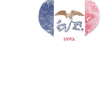 I Love Iowa Beer Flag by frittata