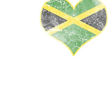 I Love Jamaican Beer Flag by frittata