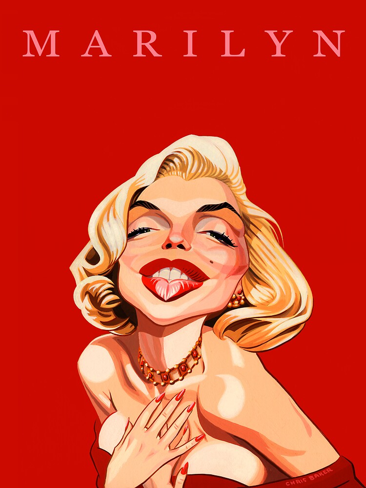 Marilyn by Chris Baker