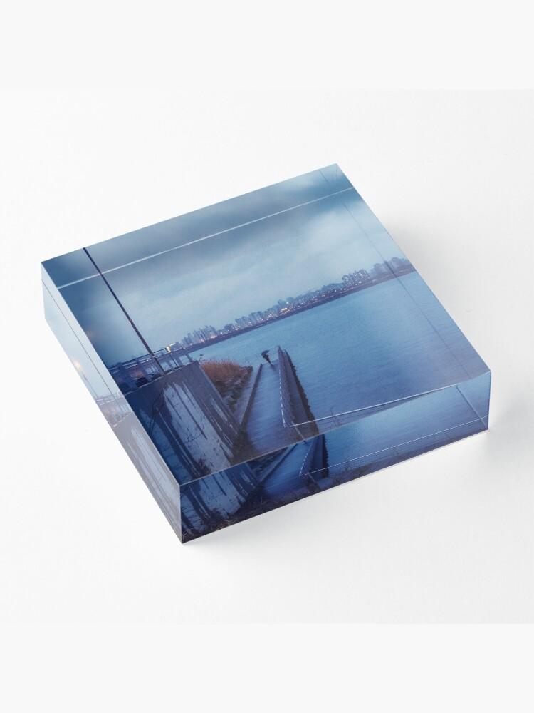 Alternate view of Feeling Blue Acrylic Block