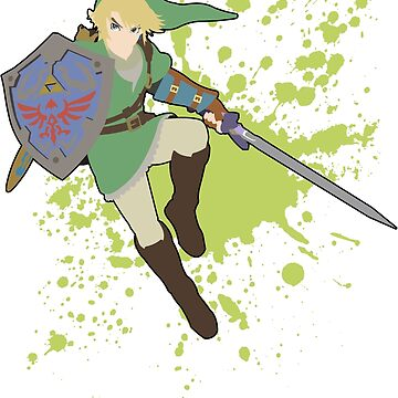 Link - Super Smash Bros. For Wii U by PrincessCatanna