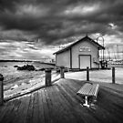 Hastings fishing shed, Victoria by Christine Wilson