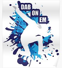 Póster Dabbing - Dab Dance