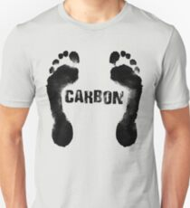 Carbon Footprint Unisex T-Shirt
