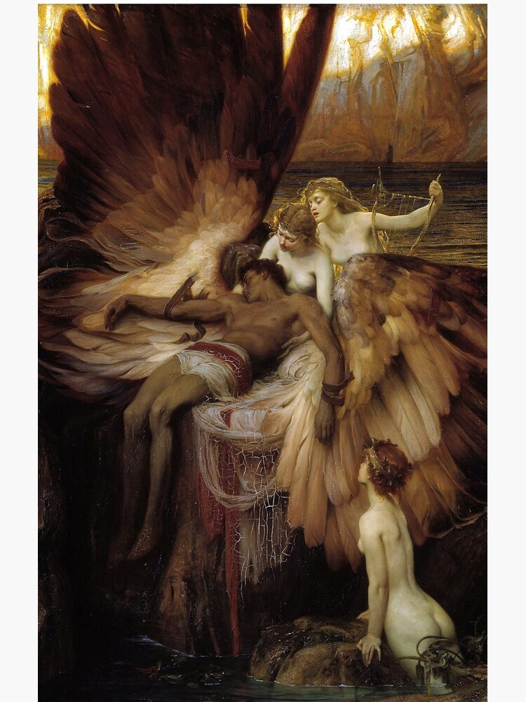 The Lament for Icarus - Herbert James Draper by forgottenbeauty