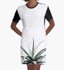 Succulents - Haworthia attenuata - Plant Lover - Botanic Specimens delivering a fresh perspective Graphic T-Shirt Dress