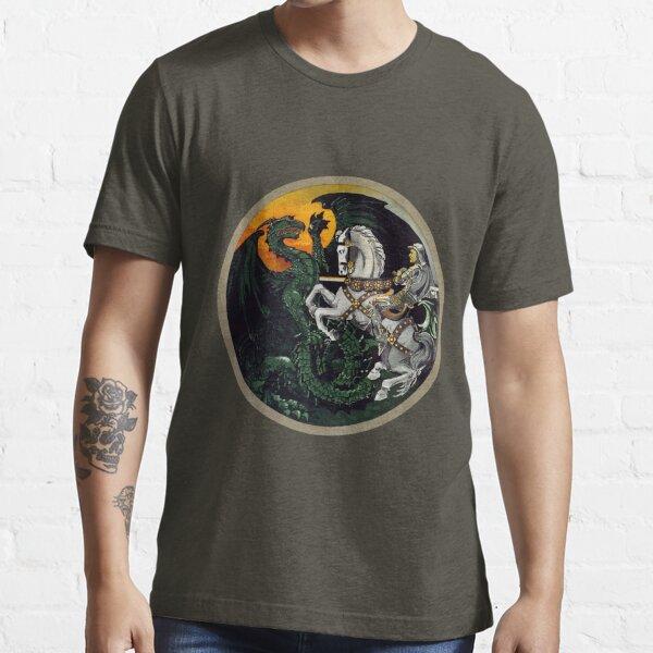 Saint George the Dragon Slayer  Essential T-Shirt